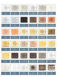 Plating Color Chart