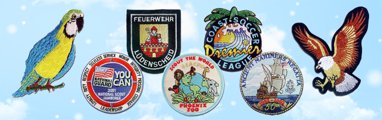 Embroidered Patches & Woven Patches